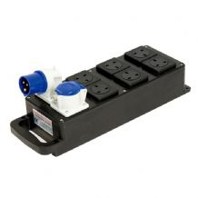 16Amp Power Distribution Box - 6 x 13Amp Outlets